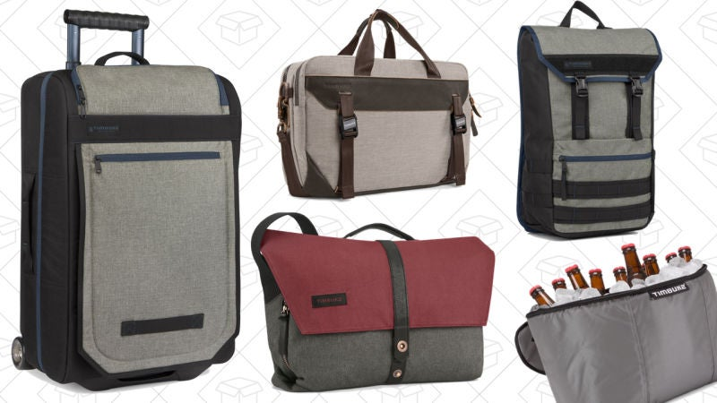 Today's Best Deals: Timbuk2 Flash Sale, Timex, Solar Lights, Hoover, and More