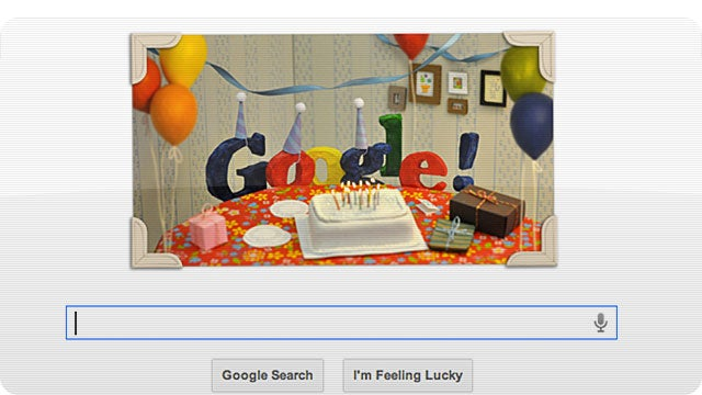 Where Were You When Google Was Born 13 Years Ago Today?