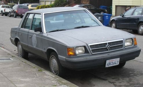 Government-Issue 1986 Dodge Aries LE