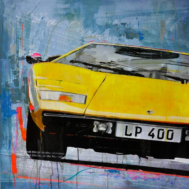 These amazing car paintings were done without photoshop