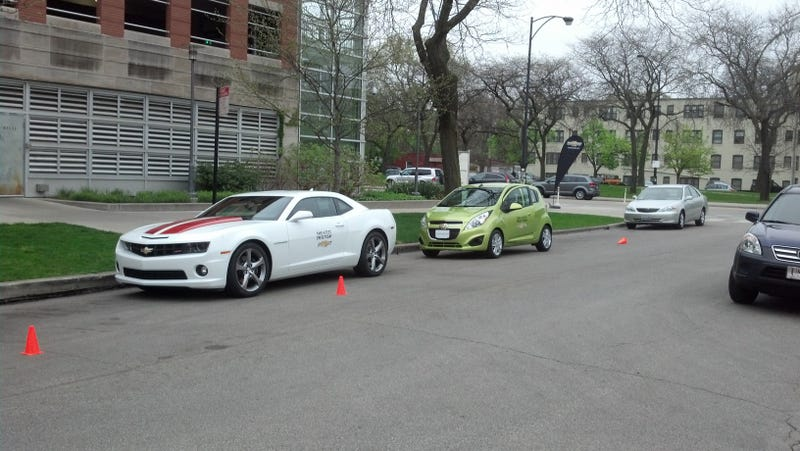 Chevy Test Drive Event: Why the Spark is better than the Camaro