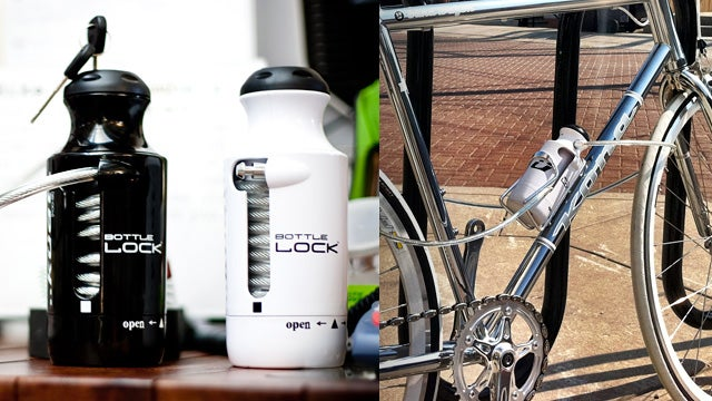 Küat Racks Bike Lock Camouflages Itself As A Water Bottle