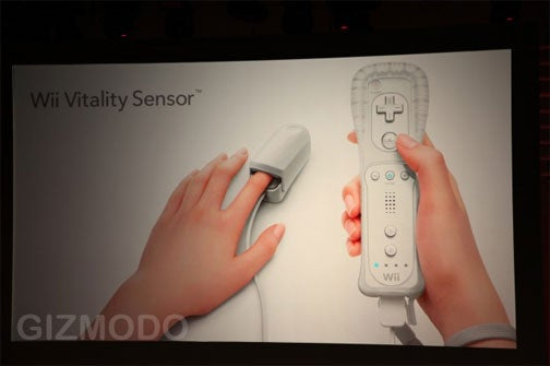 The Wii Vitality Sensor Seems...Nice