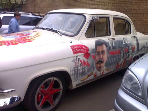 All Hail The Glorious Revolutionary Stalinmobile!
