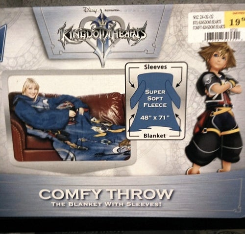 Snuggle Up With Kingdom Hearts