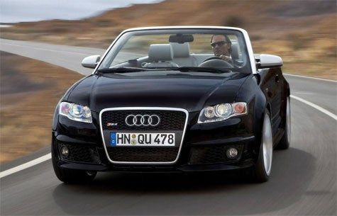 Pricing Announced for US-Bound RS4 Convertible