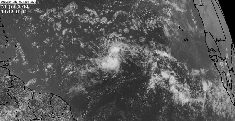 Second Tropical Cyclone of the Year Developing in the Atlantic