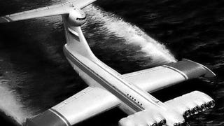 The Weird and Wonderful and Rusting Ekranoplan
