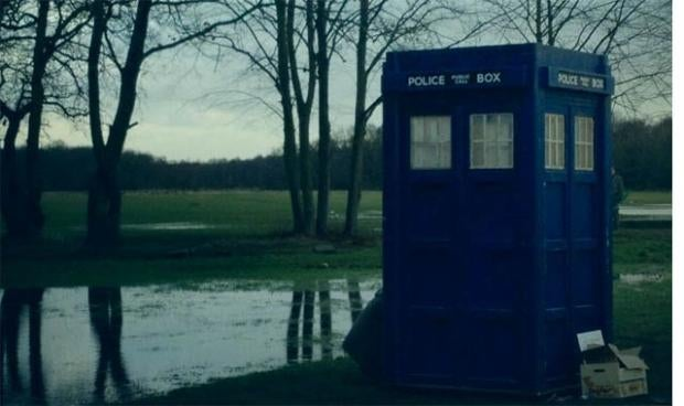 Doctor Who: An Adventure in Space and Time Behind the Scenes Photos