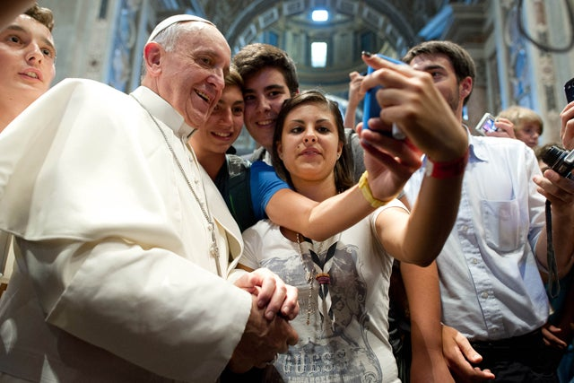 Pope Francis: Kids These Days Waste Too Much of Their Time Online