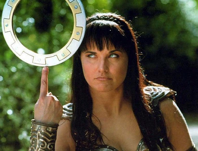 Lucy Lawless teases a Xena revival? *SWOON*