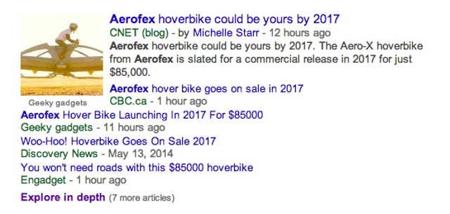 Is This Aerofex Hoverbike Going on Sale in 2017? Probably Not.