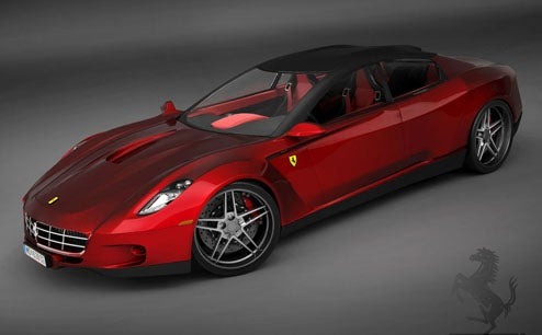 Ferrari Sedan Designed By Fanboy; We'll Take A Pinin Instead