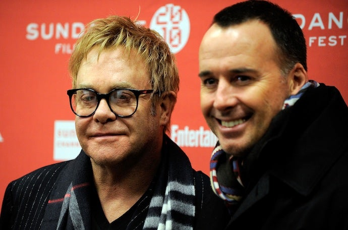 Elton John Has a Baby