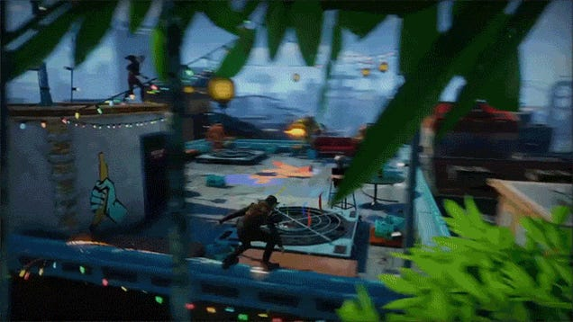 ​Sunset Overdrive Co-Op Looks Pretty Damn Fun