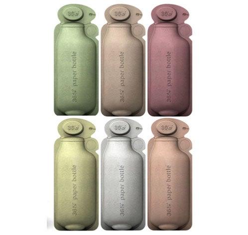 Eco-Friendly 360 Paper Bottle Concept Makes Tetra Paks Look So '60s