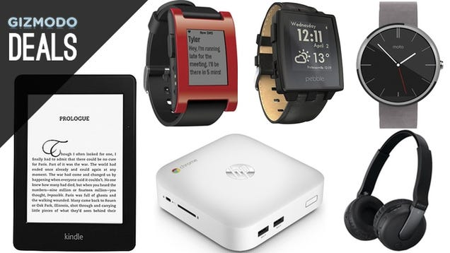 A Smart Watch of Your Choice, Kindle Paperwhite, Raspberry Pi [Deals]