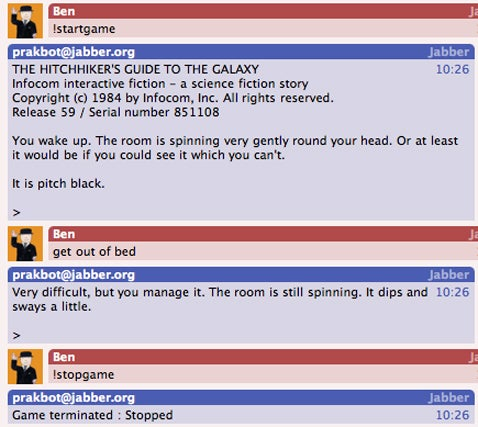 The Cursor Is Your Friend In Scifi Text Adventure Games