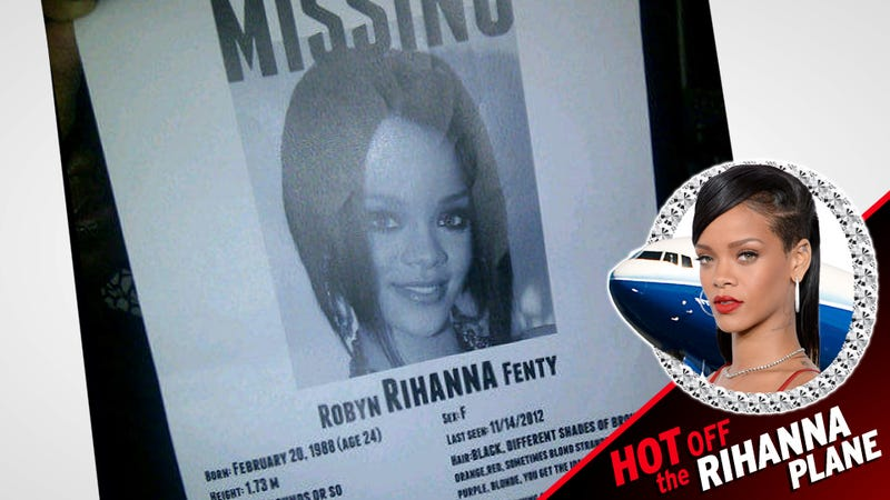 Rihanna Plane Captives, Broken but Unbowed, Land in New York as Rihanna 'Missing' Posters Circulate