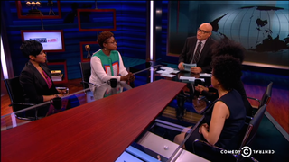 <i>The Nightly Show</i>'s Panel of Black Women Responds to Patricia Arquette