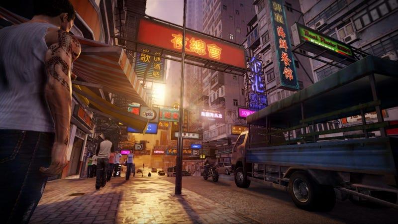 Sleeping Dogs Screenshots Give Glimpses of Open-World Hong Kong Chaos