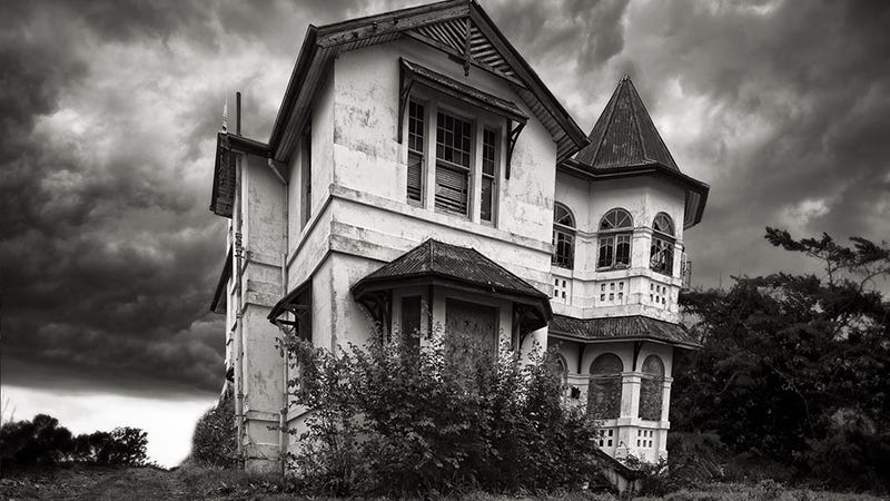 One Crazy Trick For Selling A House: Don't List It as 'Slightly Haunted'