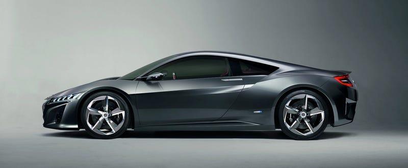 McLaren/Honda Sportscar?