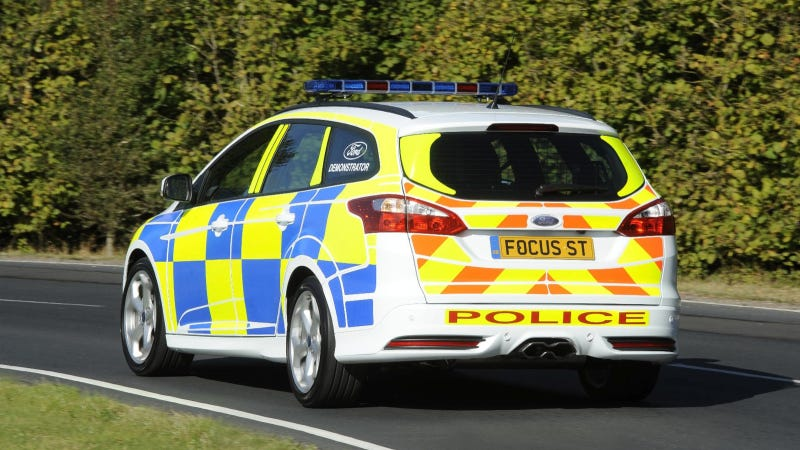 Ford's Focus ST Police Car Makes Us Want The Ticket