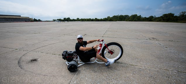 Best Bikes For Big Guys My Day on a Gas Powered Drift