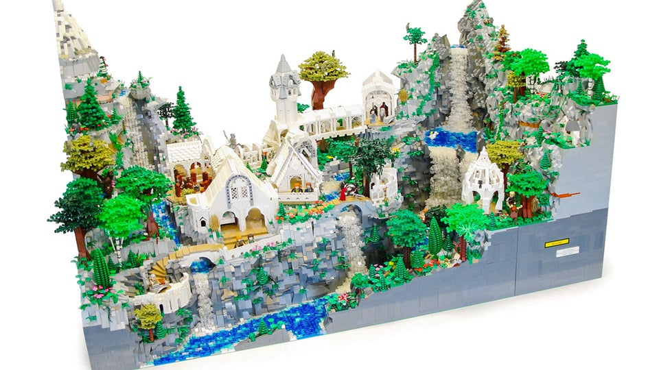 Lego Lord Of The Rings Years Made