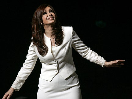 """Queen Of Botox"" Wins Argentinean Election"