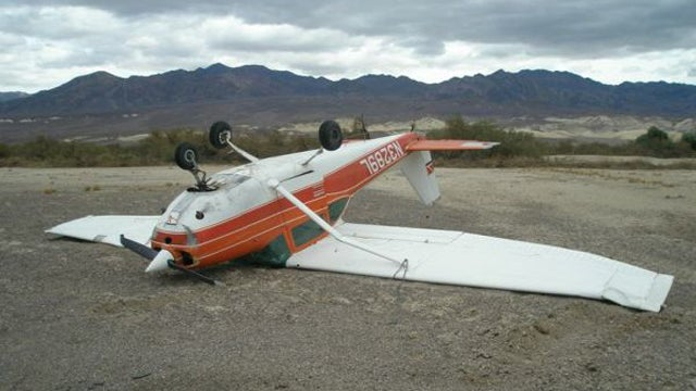 This Heavily Damaged Upside-Down Airplane Is For Sale And Can Be Yours