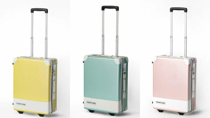 Pantone Suitcases Have It Made in 15 Shades