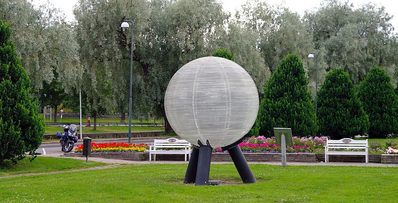 World's largest scale model of the Solar System spans the length of Sweden
