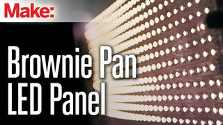 Build Your Own LED Light Panel with a Brow