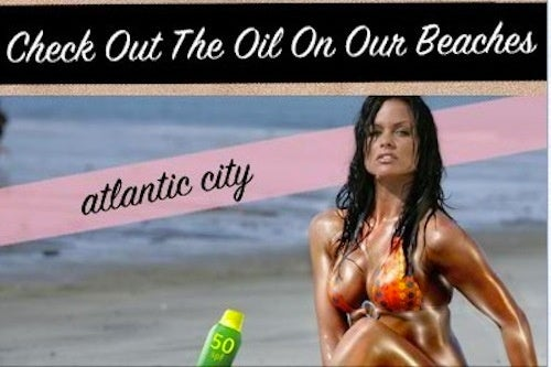 How To Exploit Women And The Oil Spill In One Fell Swoop