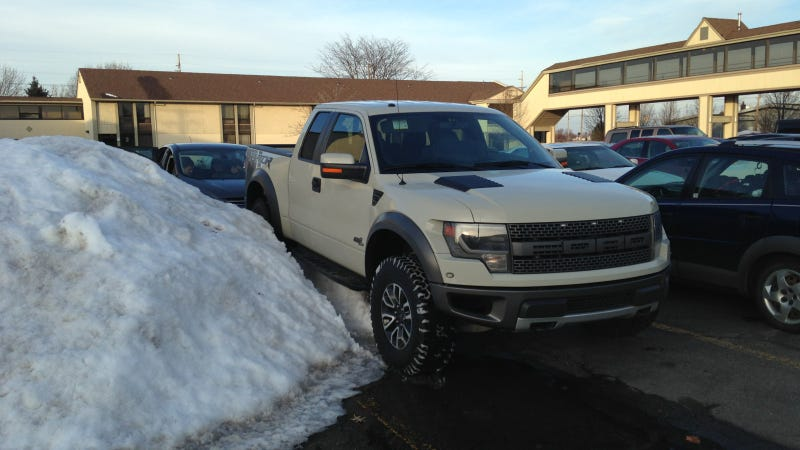 Ford Raptor Parking Jobs At The Detroit Auto Show, Ranked