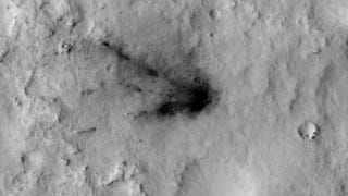 Watch Wind And Dust Obscure The Violent Traces Of Curiosity's Landing