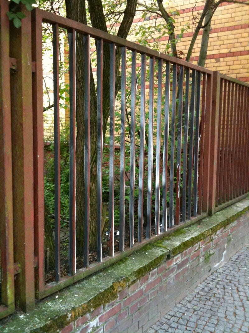 Here Is a Fence that Will Give You Nightmares