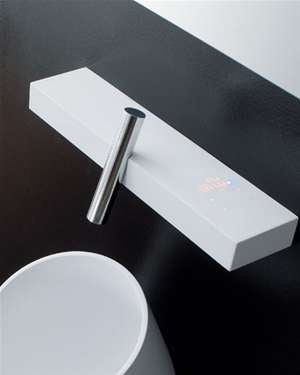 Digital Thermostat Faucet Is Exercise In Minimalism