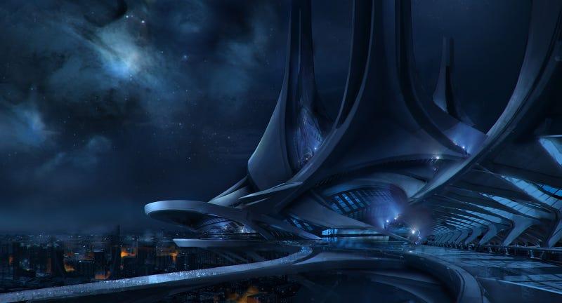 The Concept Art of Mass Effect 3