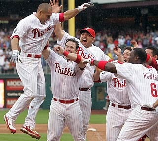 To The Victorino Go The Spoils