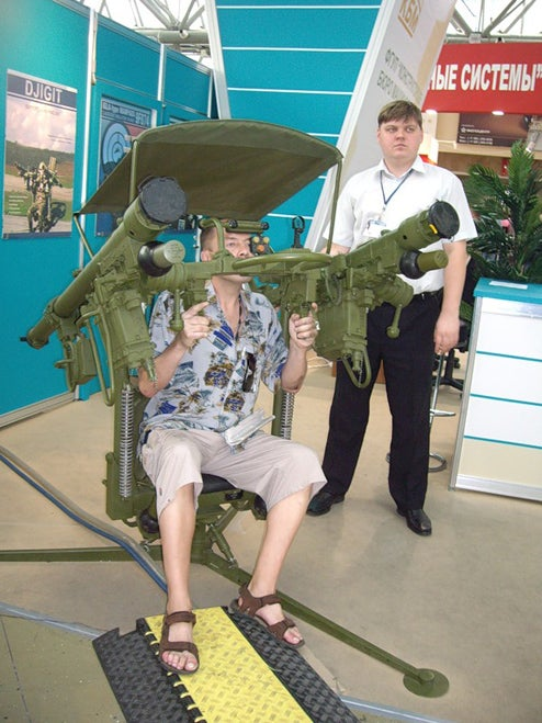 Six Fun Things to Do With Serious Military Hardware at a Russian Armaments Show