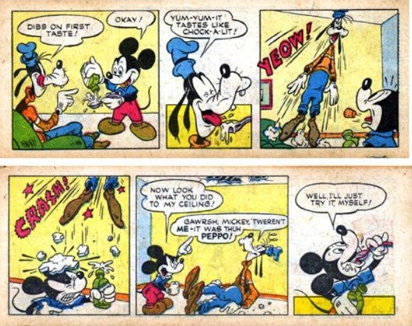 In the 1950s, Mickey Mouse shilled amphetamines to Africa