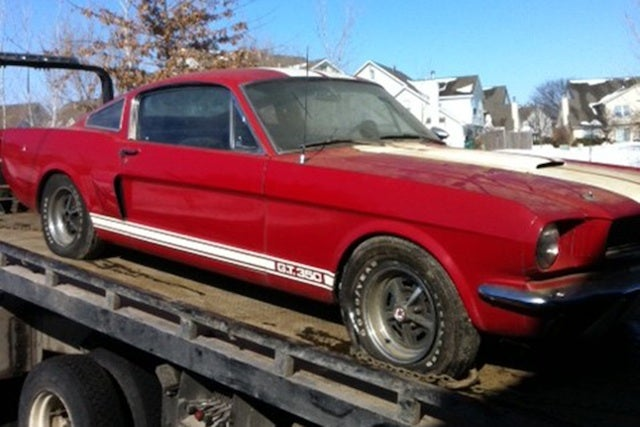 How a '66 Shelby GT350 was hidden in trash for 26 years