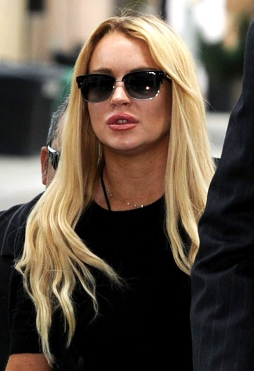 Lindsay Lohan Is Out of Jail