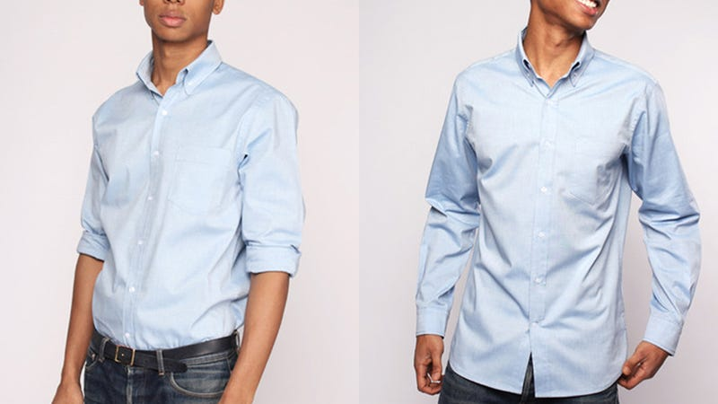 This shirt can go 100 wears without washing and we couldn't care less