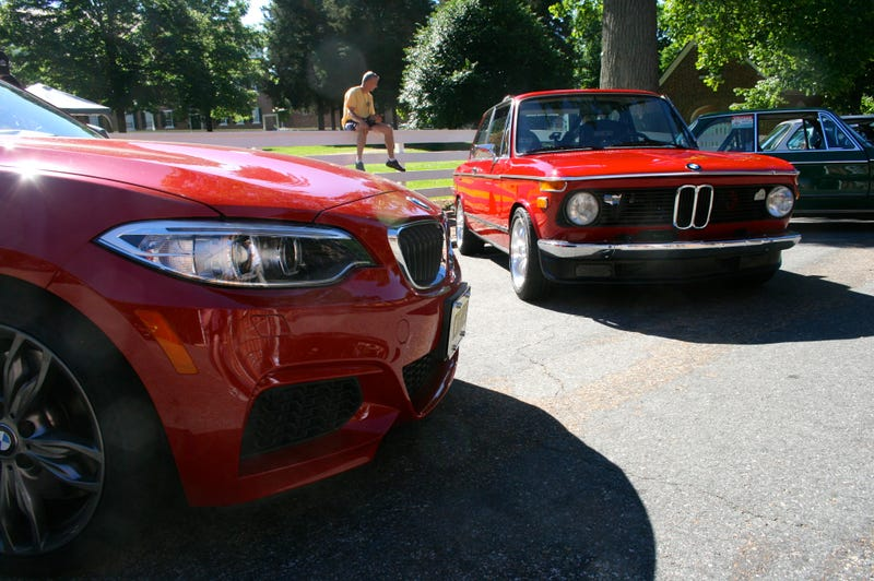 I Crashed A Vintage BMW Party In A Brand-New M235i