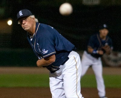 "Bill ""Spaceman"" Lee, Age 65, Threw A Complete Game Last Night"