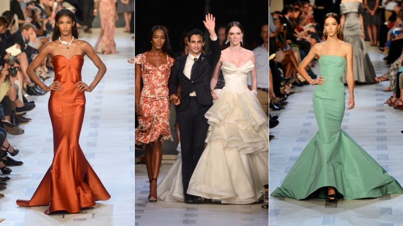 Someone Got Slapped at the Zac Posen Runway Show